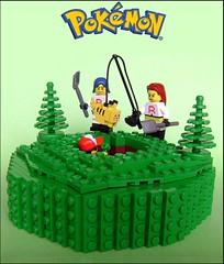 LEGO Pokemon - Double Trouble (Joris Blok) Tags: its jessie james team lego fuck can double trouble pikachu pokemon ash rocket how build trap ketchum meowth i pallettown