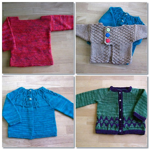 Baby Sweater Mosaic For Blog