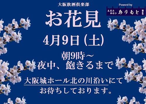 お花見 4月9日(土)