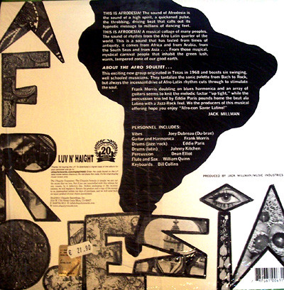 The Afro Soul-Tet – Afrod back bl