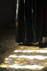 Dappled Light (Lawrence OP) Tags: light church glass dominican habit stained friar mapledurham southaisle
