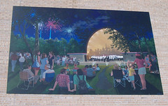 Band Shell Mural in DeKalb