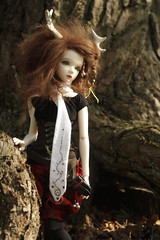 Mailee in her natural habitat. (Draikii) Tags: doll amy bjd msd jid mailee iplehouse