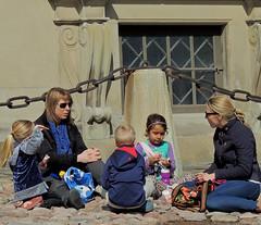 Palace picnic (bokage) Tags: picnic sweden stockholm gamlastan oldtown