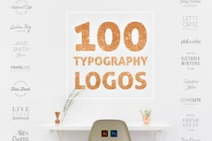 100 Typography Logos  Collection by AgataCreate(via Deour -... http://bit.ly/2dst9Qn http://bit.ly/2d7P2cf (designeour) Tags: design photography photo gear