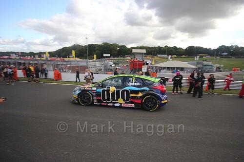 Mat Jackson during the BTCC Brands Hatch Finale Weekend October 2016