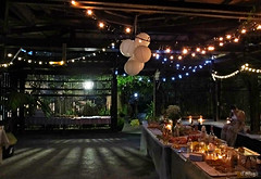 Despus de la fiesta. (Franco DAlbao) Tags: francodalbao dalbao fuji fiesta party vaco empty luces lights interior boda wedding noche night
