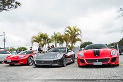 V8, V12 & V12 (Andre.Silot) Tags: ferrari 458 italia 599 gto 1of599 grigio silverstone rosso corsa scuderia v8 v12 euro us spec ctbaexotics exotic exotics cars car nikon d3000 curitiba 2016 ctba cwb brasil brazil bra br paraná pr sky