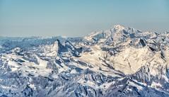 The big boys - Matterhorn and Mont Blanc - Day 80 (wiedenmann.markus) Tags: october autumn snow mighty heavy hard europe italy france switzerland nikon landscape rock stone mountain montblanc matterhorn alpes
