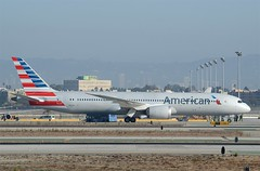 American Airlines' First 787-900 Dreamliner (N820AL) LAX Taxiway B  (2) (hsckcwong) Tags: americanairlines 787900 7879 787 dreamliner n820al klax