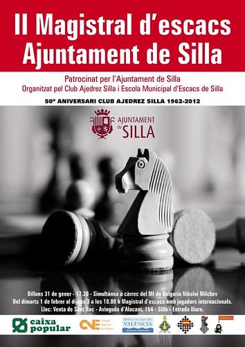 """II Magistral d'Escacs """"Ajuntament de Silla"""""""