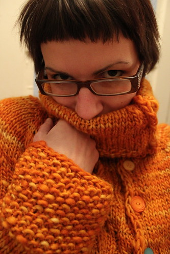 20110126. new favorite sweater! the alderbrook pattern.