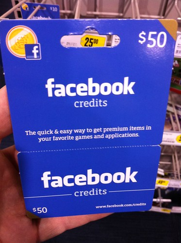 Buy Facebook Credits?