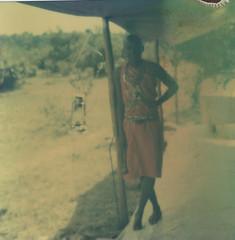 Masa (charlottebadelon) Tags: africa polaroid sx70 masaimara bsquare masa impossibleproject