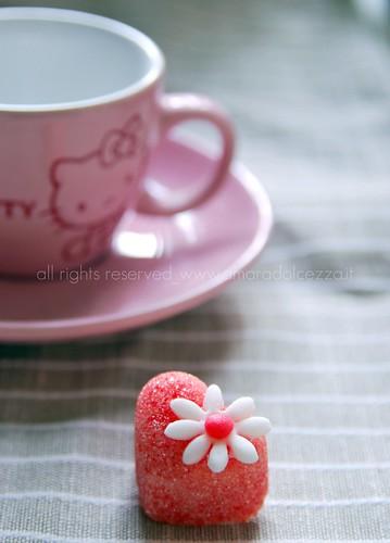 Zuccherino e pasta di zucchero