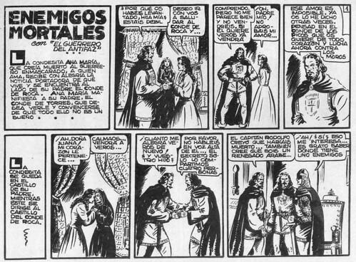013-El Guerrero del antifaz nº 9 primera edicion-1ª pagina