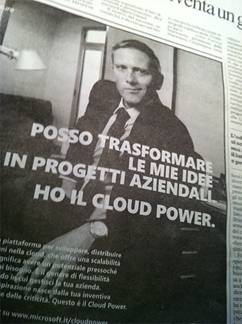 Ha il cloud power