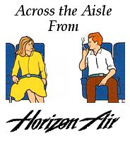 Across the Aisle From Horizon Air