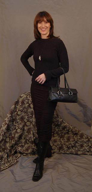 Raglan Tee amp  Ruched Skirt by Christine Jonson Patterns