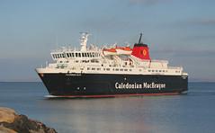 """Caledonian Isles"" at Brodick (Hugh Spicer / UIsdean Spicer) Tags: winter scotland january calmac brodick arran isleofarran lochranza firthofclyde 2011 caledonianmacbrayne sannox caledonianisles clydesteamer caleyisles"