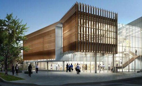 the new Tenley-Friendship public library (by: the Freelon Group)