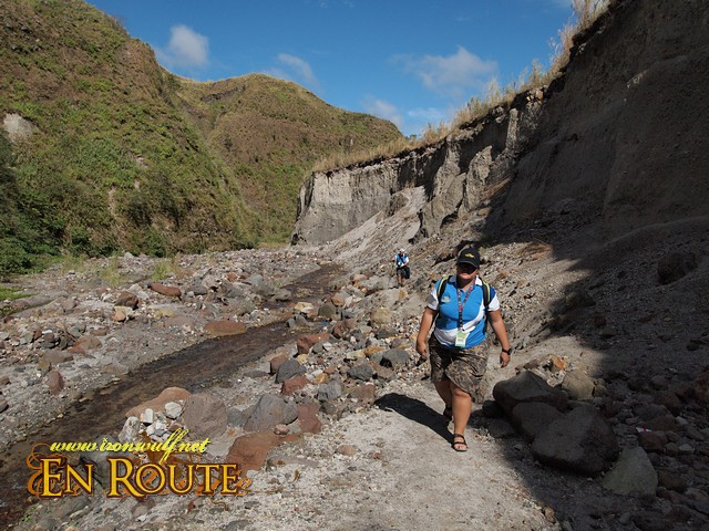 On the Pinatubo Trail no a lot easier with the shorter hike