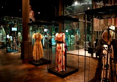 Madeleine Vionnet dresses previously on display in the gallery