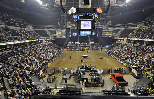 Conseco Fieldhouse transformed for the PBR event