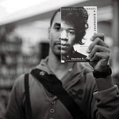 Jimicky (diyosa) Tags: northbeach ricky jimihendrix citylightsbookstore headcover doesnthelooksoexcitedtobeheadcovered