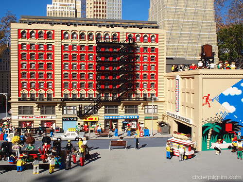 block party: legoland's new york