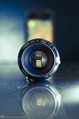 Camera or phone? (k4wea) Tags: camera reflection canon lens photoaday refraction february dailyphoto round2 fifty nifty iphone odc take2 odt bluetones 2011 project365 explored highestposition3 193365 february2011 365community ourdailychallenge t189522011week5 reallyannoyedwithmyattentiontodetailherejustnoticedsomethingiforgottodogrr onethingyouwouldkeep