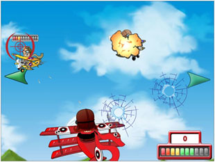 free Flying Colors slot bonus feature 1