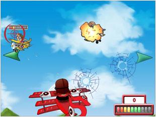 free Flying Colors slot bonus feature 1