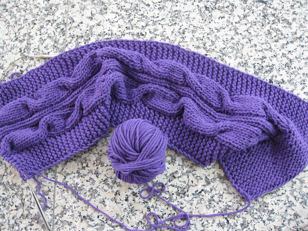 Amazing Stricken Zopfmuster Inspiration - Decke Stricken Muster ...