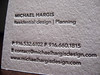 Michael Hargis Business Cards