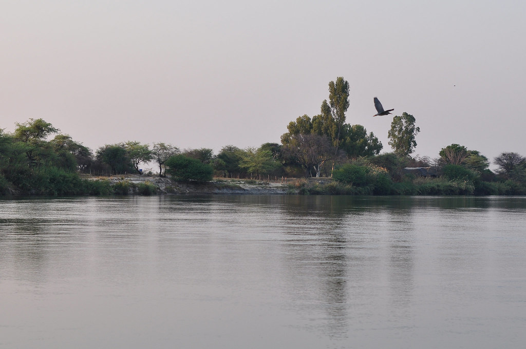 NAMIBIA-THE CUBANGO RIVER-THE ANGOLA BORDER-13
