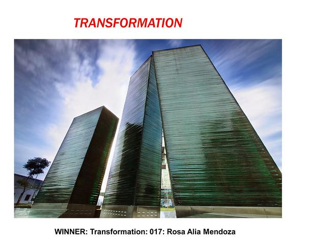 Transformation by Rosa Alia Mendoza