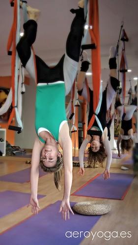 Clases Aero Yoga y Fitness Anti Gravedad