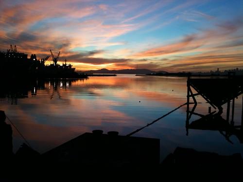 Sunset: 20110204