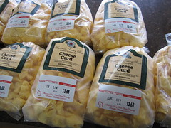 Curds, ready to go