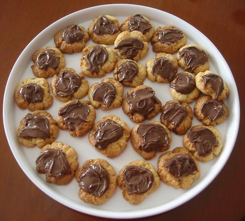 Biscotti di pasta frolla con Nutella