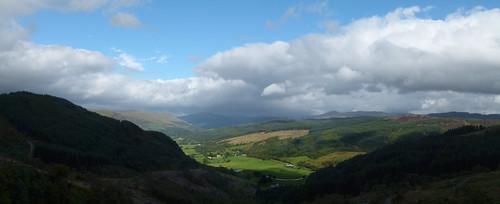 Glendaruel panorama