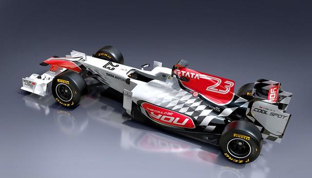 HRT F111 2011 F1 5
