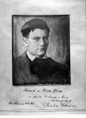 Enrst van Dohnanyi portrait graphic print