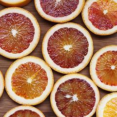 Blood Oranges (Lardon My French) Tags: food recipe citrus greenolive bloodorange tapenade tartines lardonmyfrench