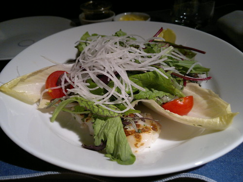 Grilled Pacific Cod Salad