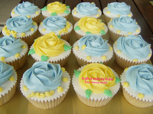 Rose Buttercream Cupcakes