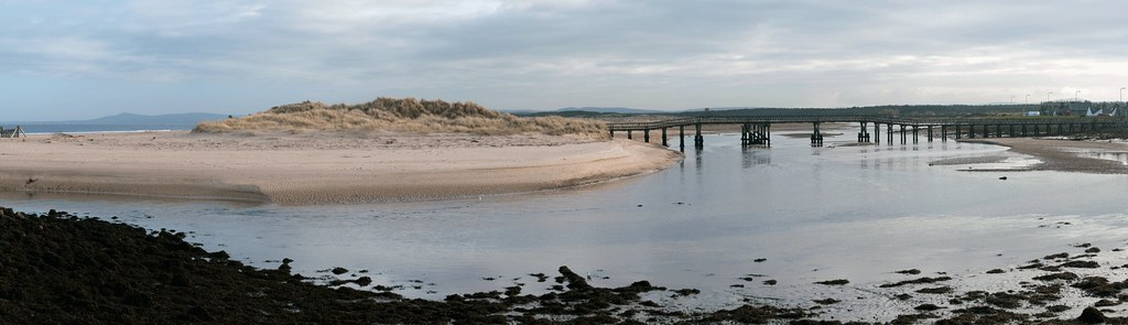 River Lossie at Lossiemouth