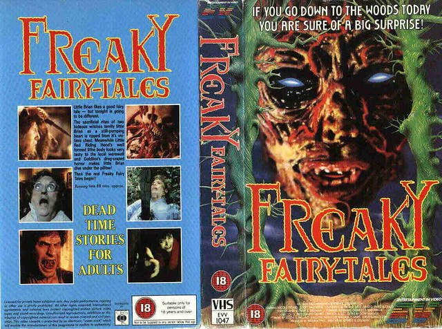 Freaky Fairytales (VHS Box Art)