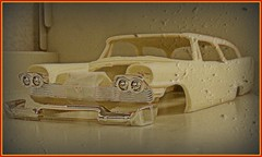 Killer Wagon (Digital_Third_Eye) Tags: classic wagon famous january plymouth evil christine hobby chrysler mopar coupe fury infamous scalemodels stevenking 2011 124thscale jimmyflintstone digitalthirdeye resinbody